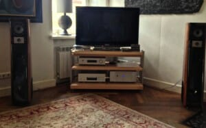 Stereo system in England