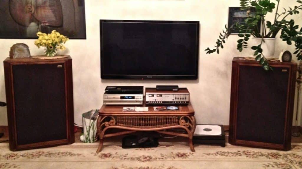Hand built speakers in Vilnius