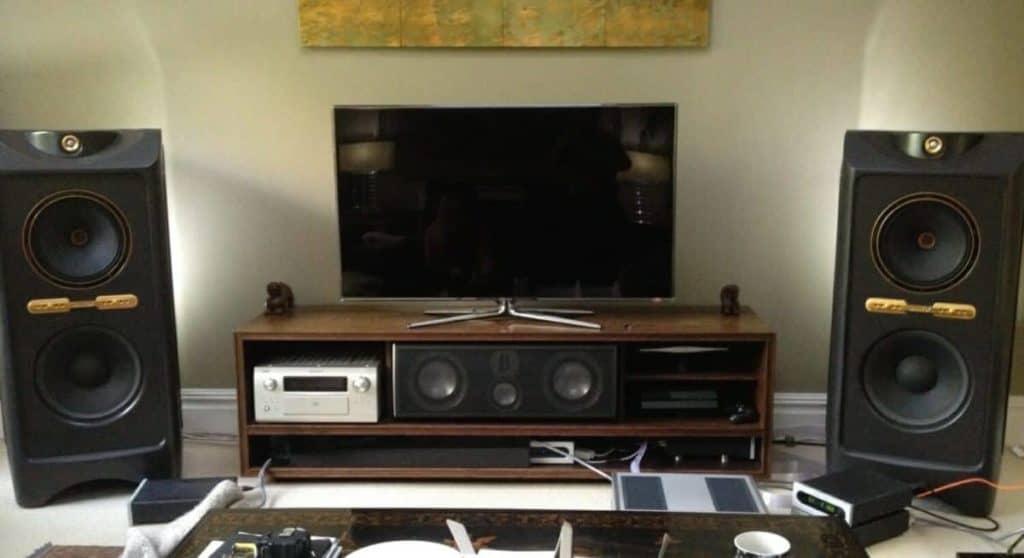 Tannoy speaker system in UK