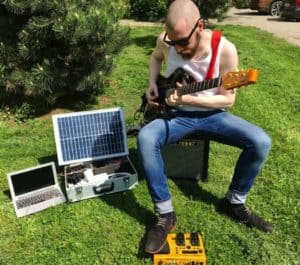 how to use solar power