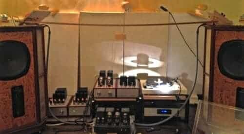 Tannoy loudspeakers in GRF cabinets