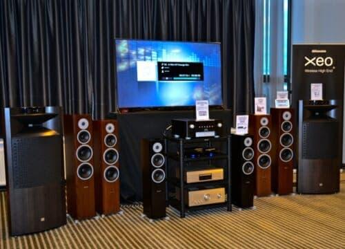many speakers for listening