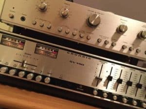 grundig vintage amplifier