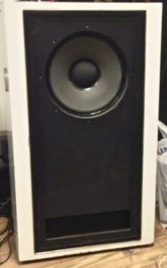 Tannoy red loudspeakers