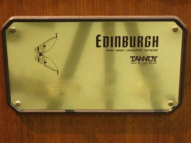 Audiophile bass Tannoy Edinburgh