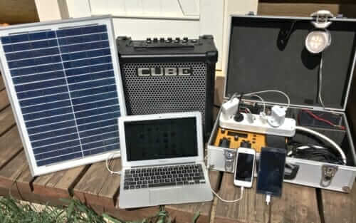 Solar power great for audiophiles