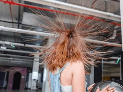 Static electricity a sound killer