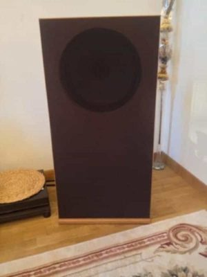 """Open baffle is great Tannoy 15"""" driver"""