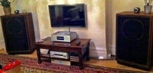 Audiophile system setup tannoys in UK