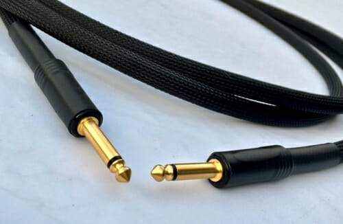 Guitar players Improve sound Perkune Guitar cable