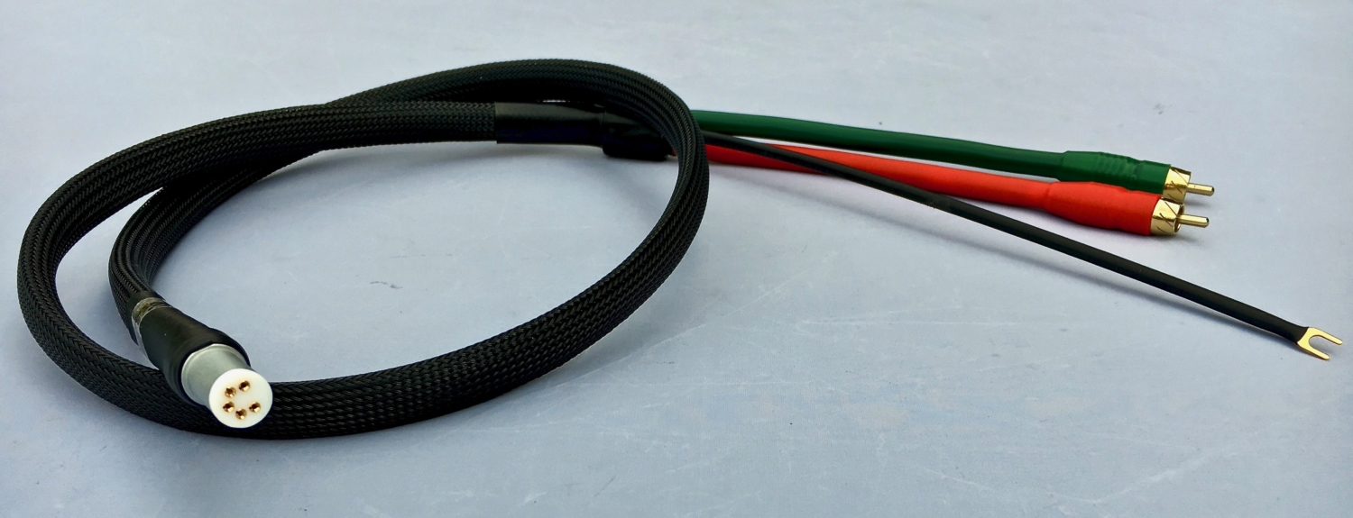 Tone arm cable