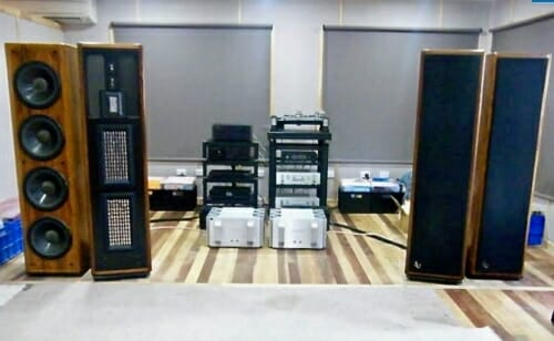 Audiophile system set up
