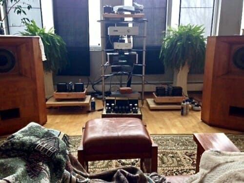 Tannoys needing the Audio system set up
