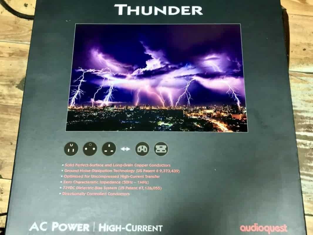 AudioQuest Thunder Vs perkune Reference