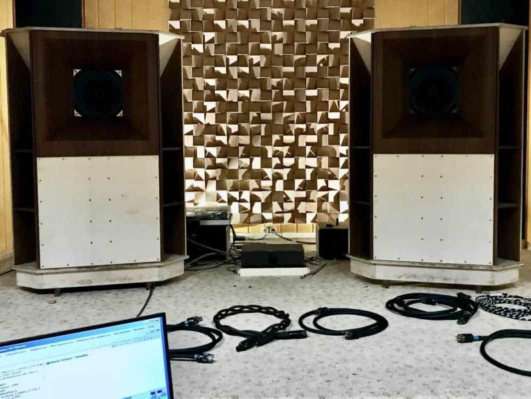 AudioQuest Thunder test