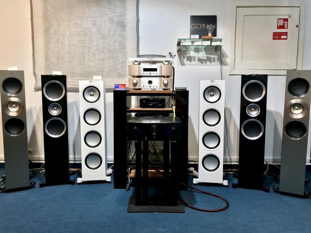 Kef loudspeakers