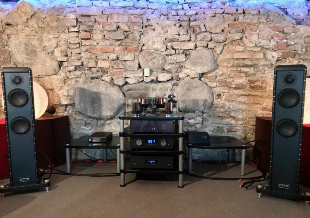 Audio system set-up