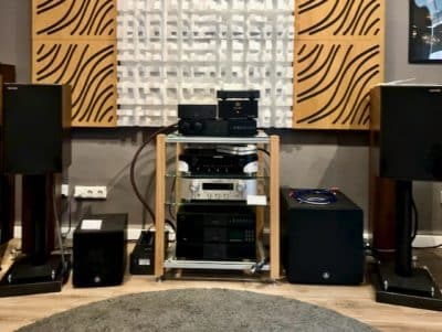 Audio system used