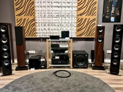 Acoustic-energy AE520 loudspeakers