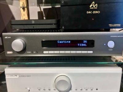 Testing amplifier