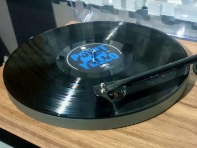 Vinyl album Point by Yello