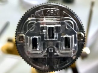 Power cable polarity test