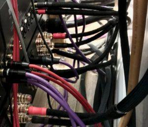 Audio cables under test