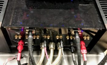 Audiophile cable testing amplifier