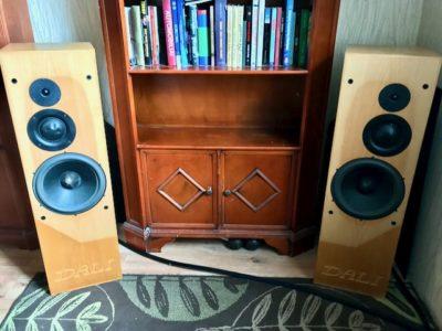 Dali loudspeakers under test