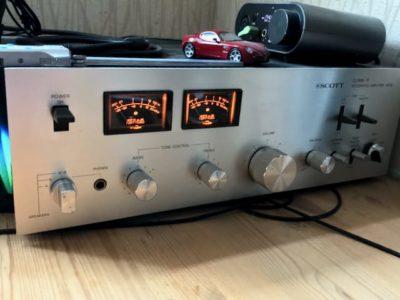 Scott amplifier testing