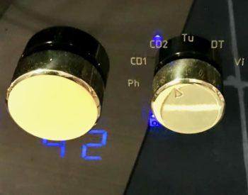 Second amplifier display