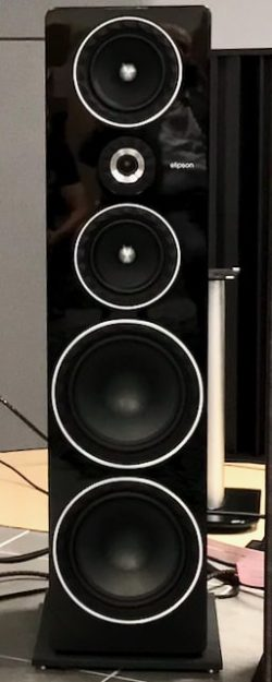 Loudspeaker for Audiophile power cable difference