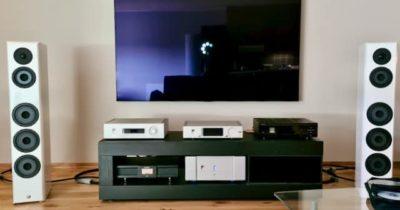 Audio system set up